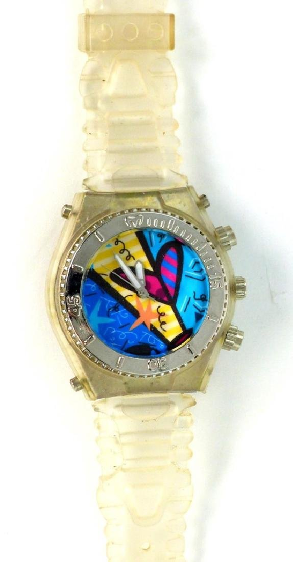 ROMERO BRITTO QUARTZ WATCH w SILICONE BAND - 3