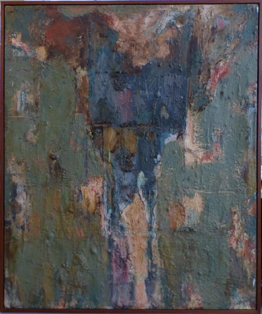 MICHAEL DAVID 'MARSYUS' ENCAUSTIC ON CANVAS