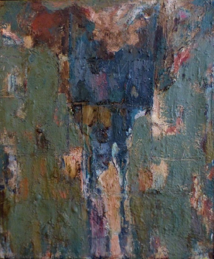 MICHAEL DAVID 'MARSYUS' ENCAUSTIC ON CANVAS - 3