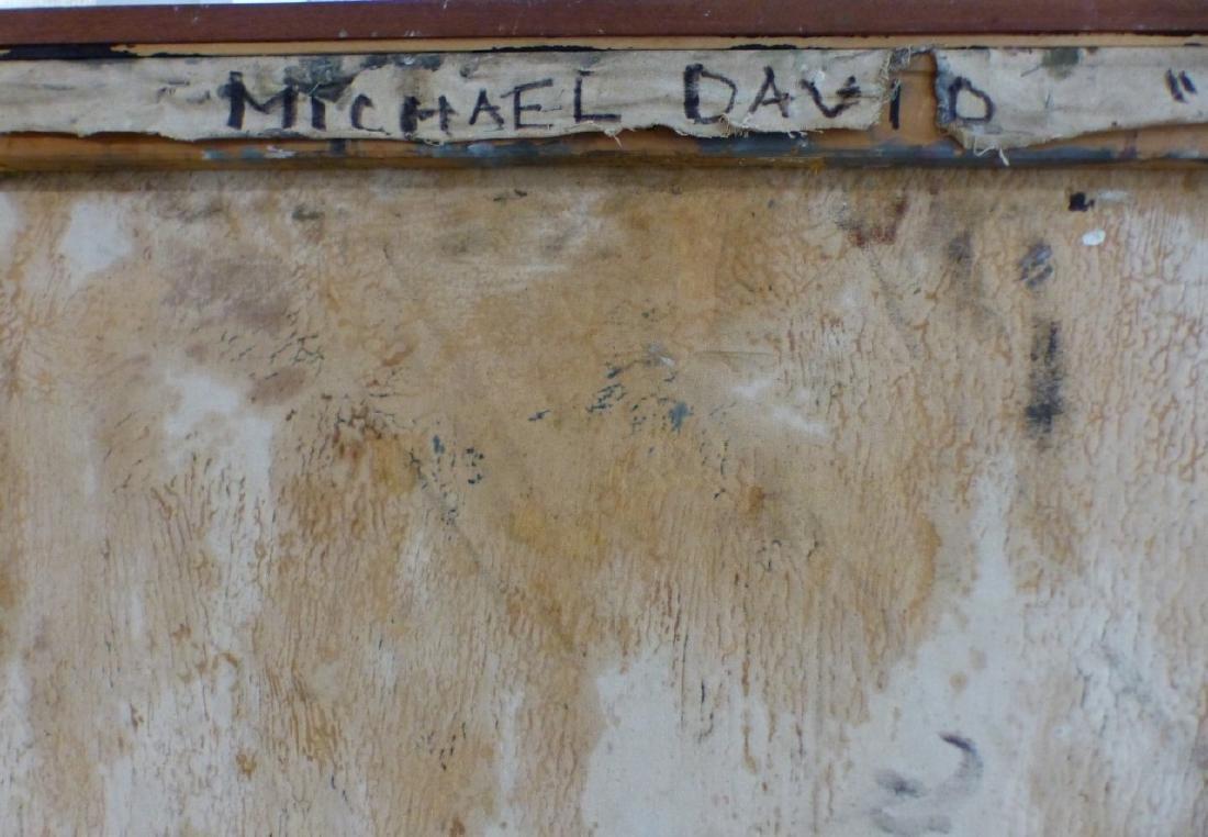 MICHAEL DAVID 'MARSYUS' ENCAUSTIC ON CANVAS - 7