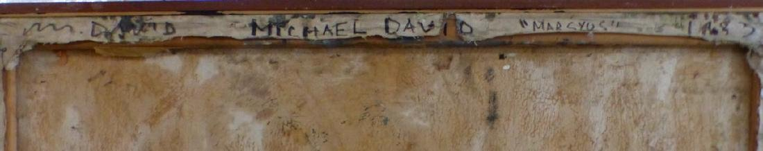 MICHAEL DAVID 'MARSYUS' ENCAUSTIC ON CANVAS - 9