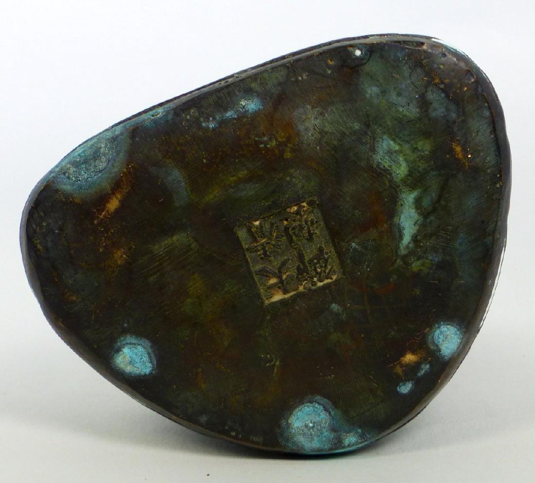 TIBETAN CAST METAL BUDDHA FIGURE - 7