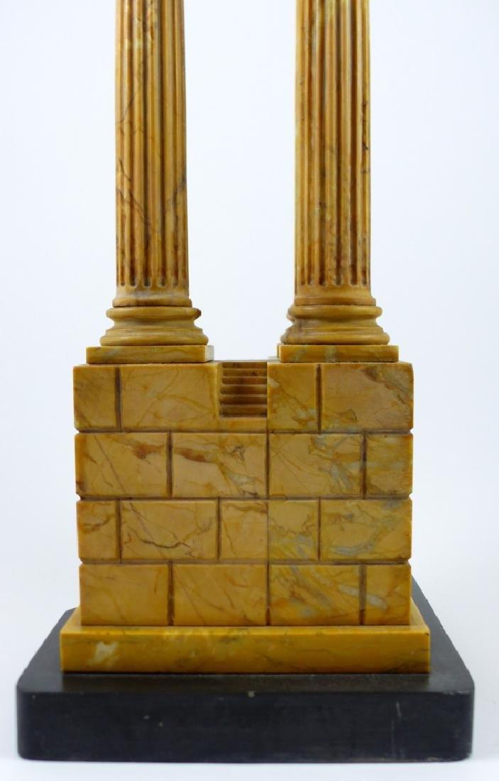 TEMPLE OF VESPASIAN RUINS SIENA MARBLE SCULPTURE - 4