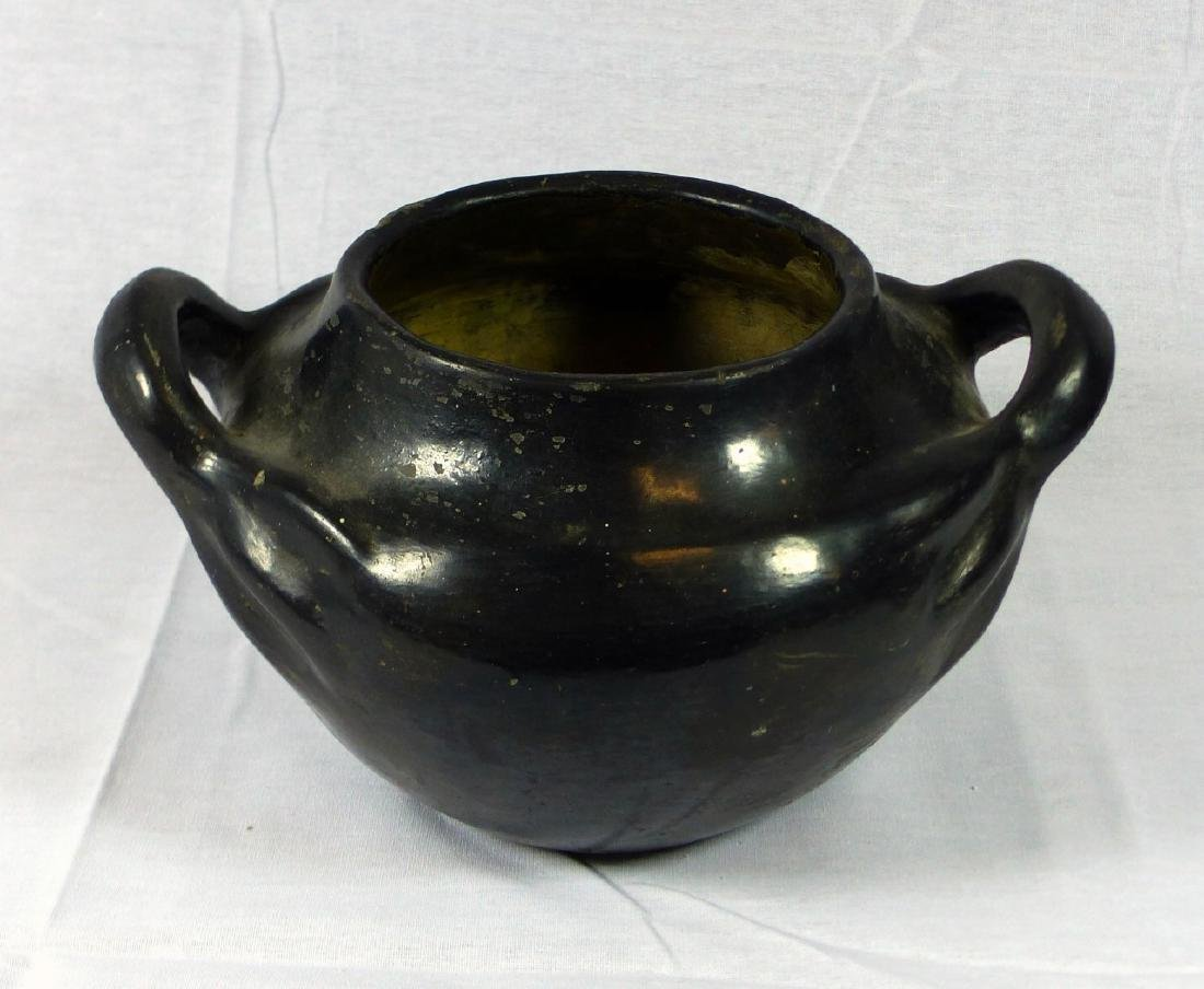2pc NATIVE AMERICAN INDIAN OLLA POTTERY - 3