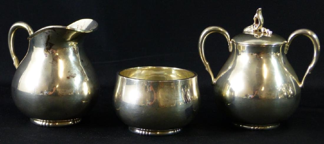 7pc TANGO ACEVES STERLING SILVER COFFEE & TEA SET - 3
