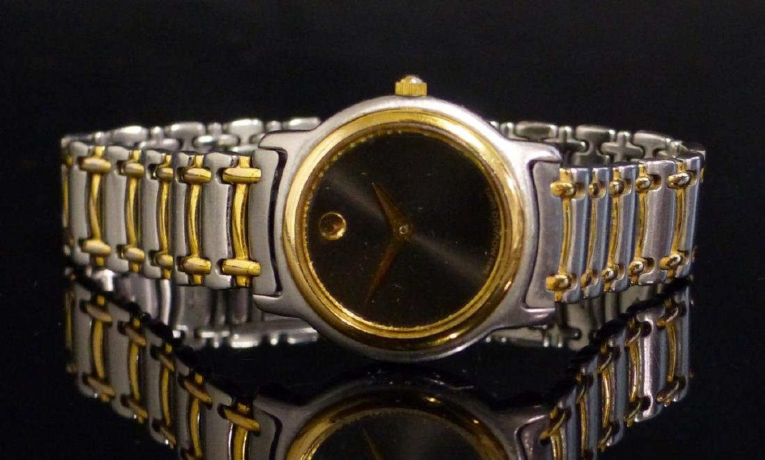 MOVADO TWO-TONE STAINLESS STEEL WRIST WATCH