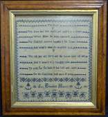 AMERICAN NEEDLEPOINT THE ROSE 1826
