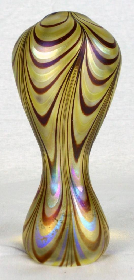 VANDERMARK ART GLASS PERFUME BOTTLE