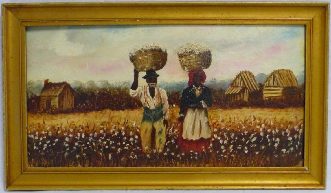 WILLIAM AIKEN WALKER COTTON PICKERS OIL / BOARD
