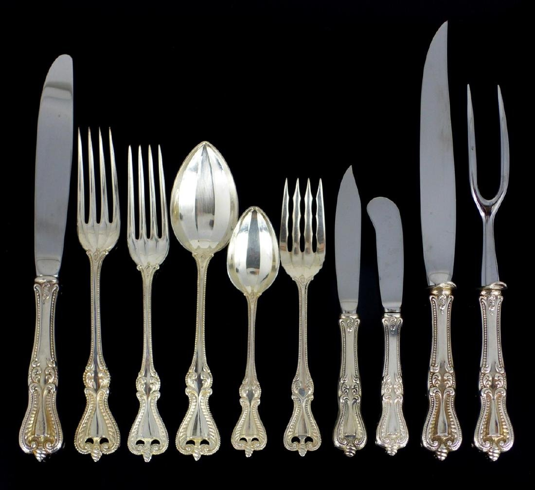 78pc TOWLE OLD COLONIAL STERLING SILVER FLATWARE