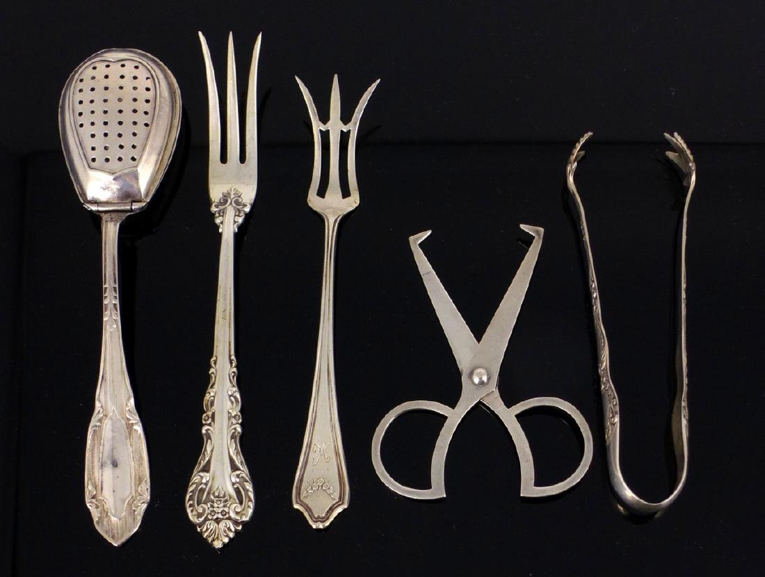 5pc STERLING SILVER SERVING ITEMS