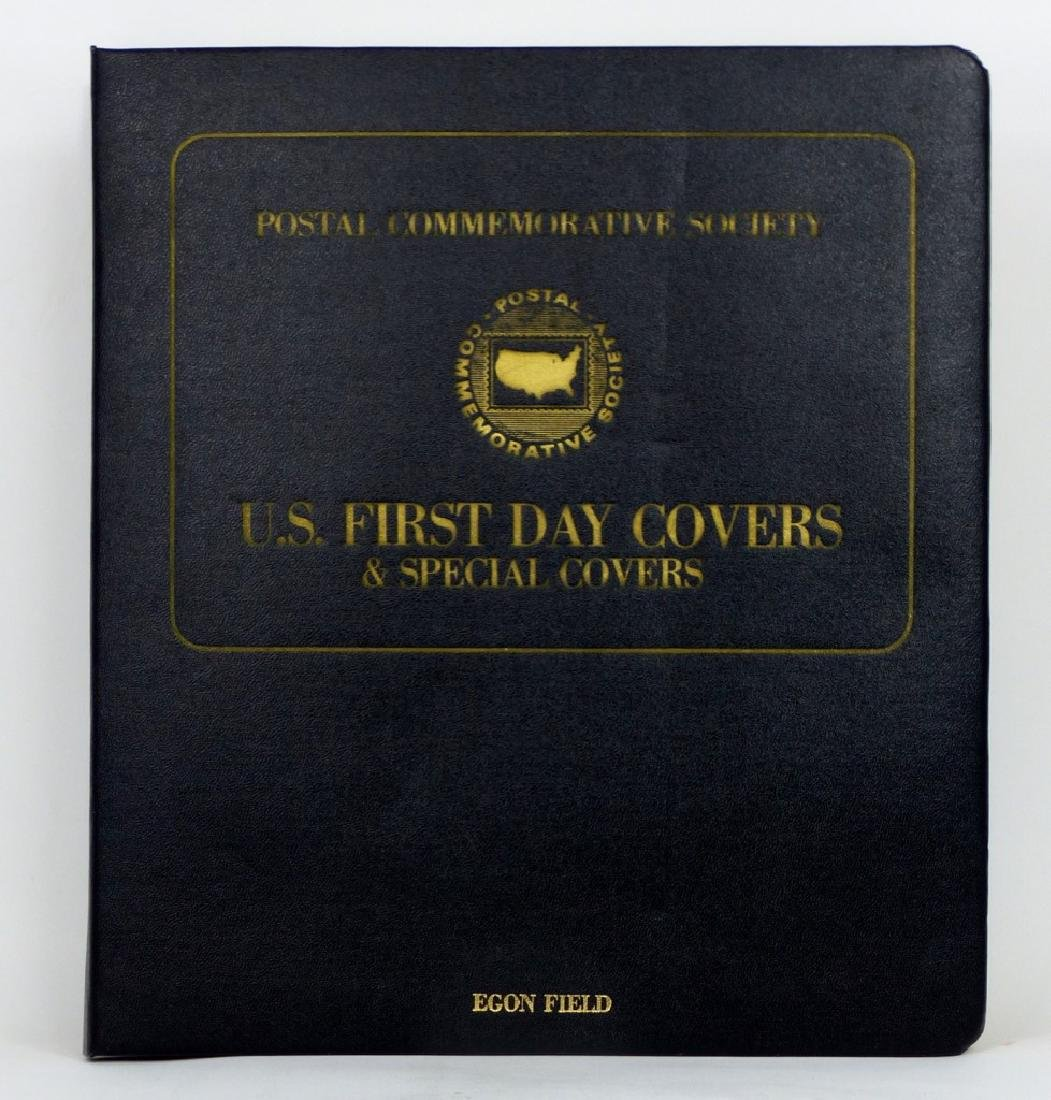 POSTAL COMMEMORATIVE SOCIETY FIRST DAY COVERS