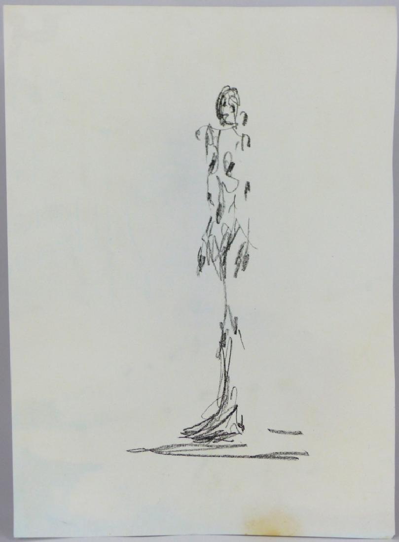 ALBERTO GIACOMETTI 'CAHIERS D'ART' LITHOGRAPH