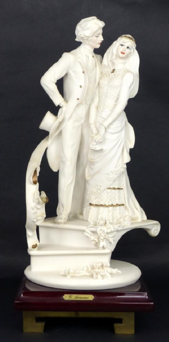 GIUSEPPE ARMANI BRIDE & GROOM SCULPTURE