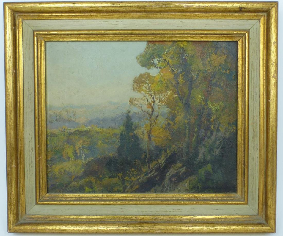 FREDERICK BALLARD WILLIAMS OIL PAINTING ON BOARD