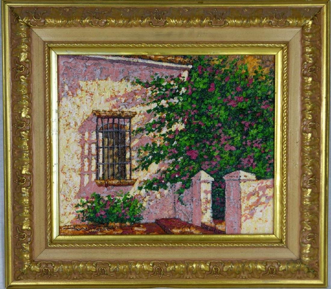 FRANCIS ROMERO DOMINICAN IMPRESSIONIST PAINTING