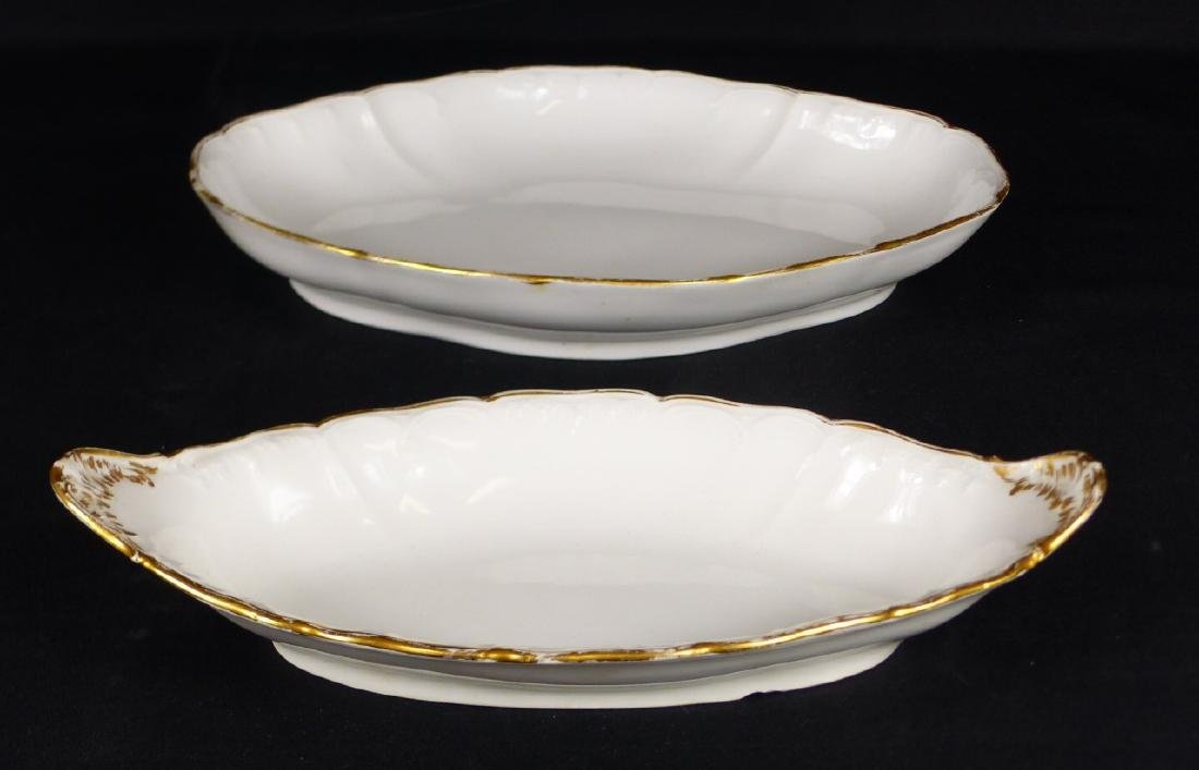 2pc KPM PORCELAIN SERVING DISHES