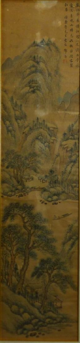 CHINESE SCROLL PAINTING MOUNTAINOUS LANDSCAPE - 3