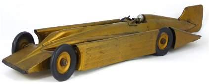 KINGSBURY 'GOLDEN ARROW' RACE CAR