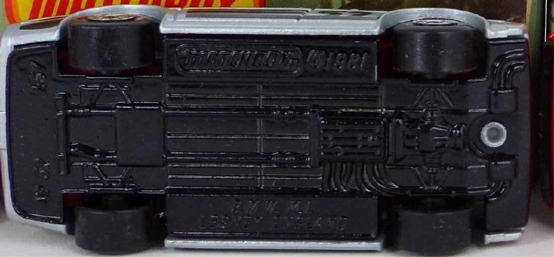 3pc MATCHBOX TOY CARS w BOXES FERRARI & BMW - 10