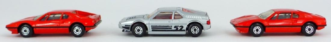 3pc MATCHBOX TOY CARS w BOXES FERRARI & BMW - 4