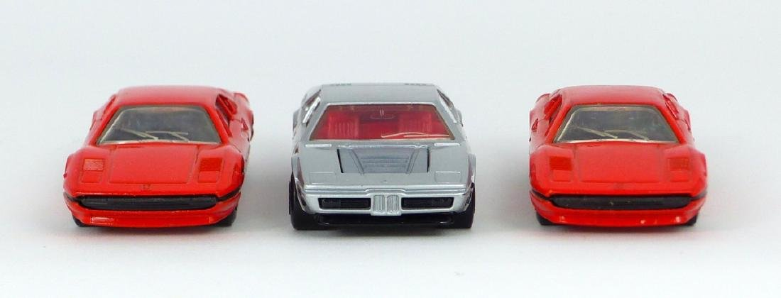 3pc MATCHBOX TOY CARS w BOXES FERRARI & BMW - 5