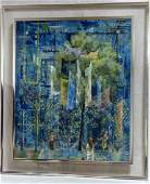 DON LORD 'WISHING TREE' OIL PAINTING ON BOARD 1960