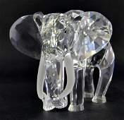 SWAROVSKI CRYSTAL ELEPHANT FIGURINE 1993