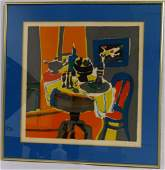 MARCEL MOULY STILL LIFE LITHOGRAPH SIGNED 73/260