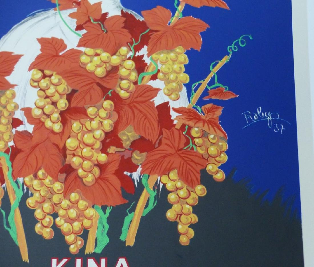 ROBERT WOLFF 'KINA LILLET' ADVERTISING POSTER - 3