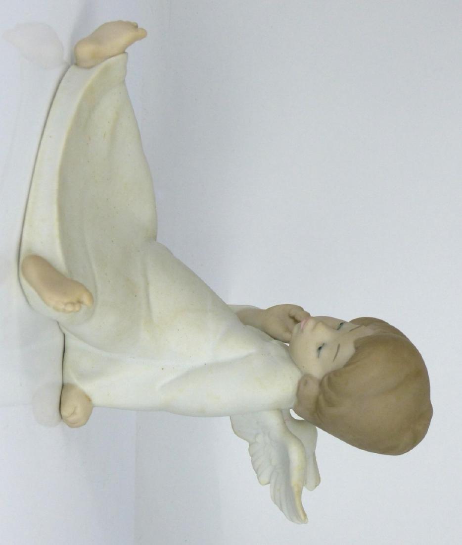 LLADRO 'ANGEL WONDERING' PORCELAIN FIGURINE w BOX - 5