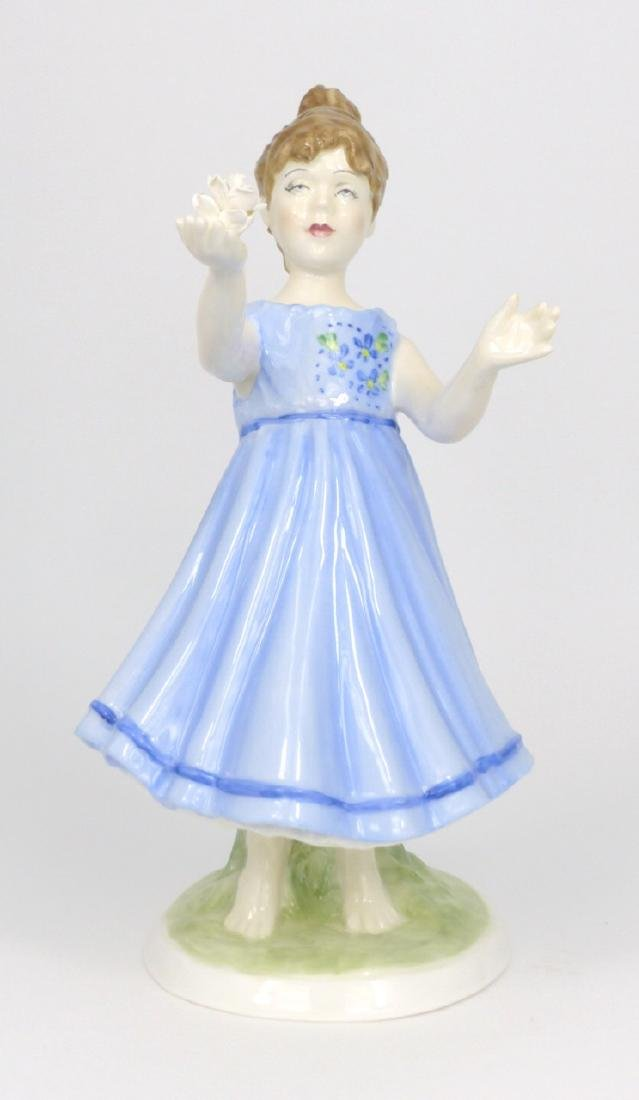ROYAL WORCESTER 'I HOPE' BY SHEILA MITCHELL FIGURE
