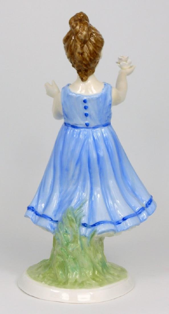 ROYAL WORCESTER 'I HOPE' BY SHEILA MITCHELL FIGURE - 3