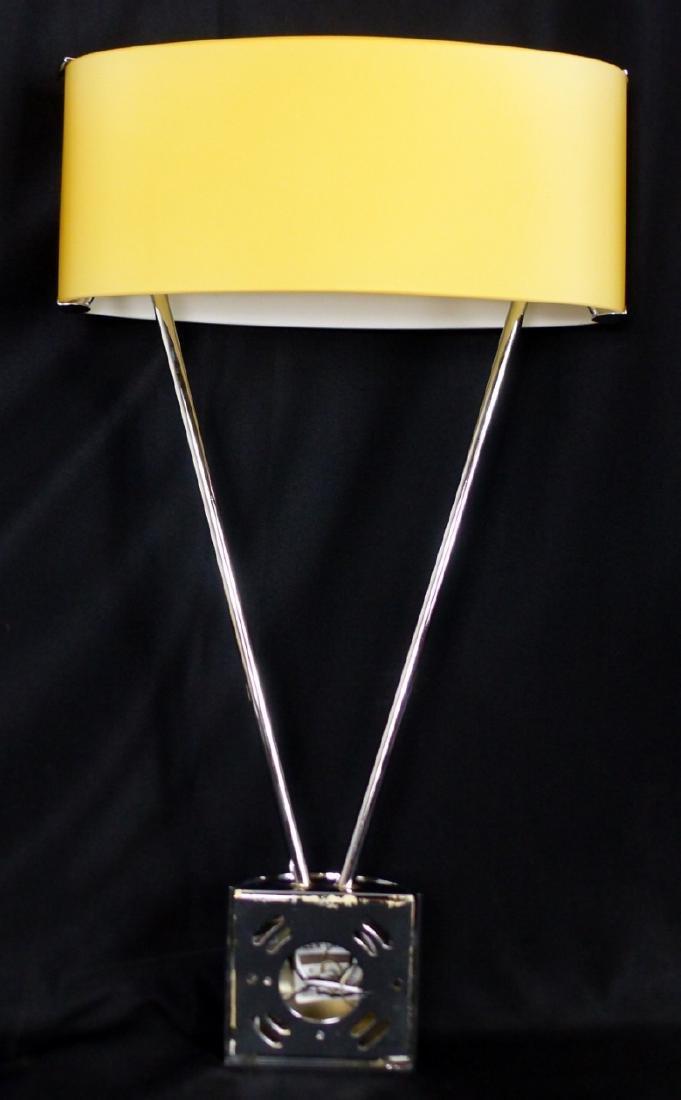 PR VETRI MURANO GLASS & CHROME WALL SCONCES - 5