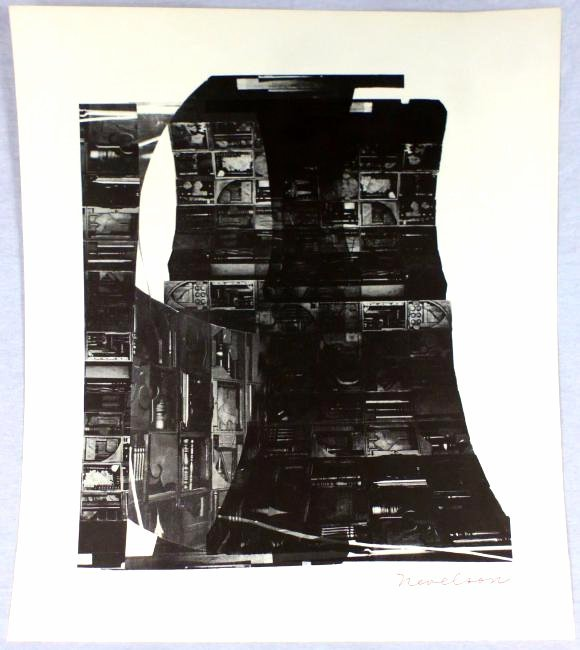 LOUISE NEVELSON 'NIGHT REFLECTIONS' SERIGRAPH