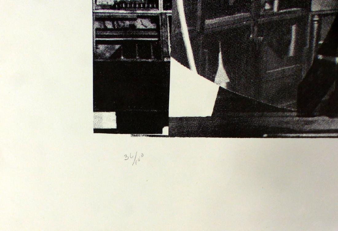 LOUISE NEVELSON 'NIGHT REFLECTIONS' SERIGRAPH - 4