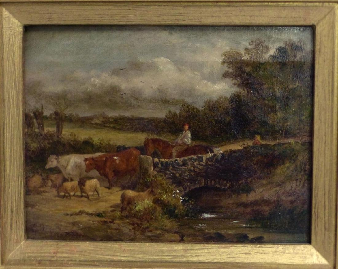GEORGE HERBERT OIL PAINTING ON CANVAS - 2