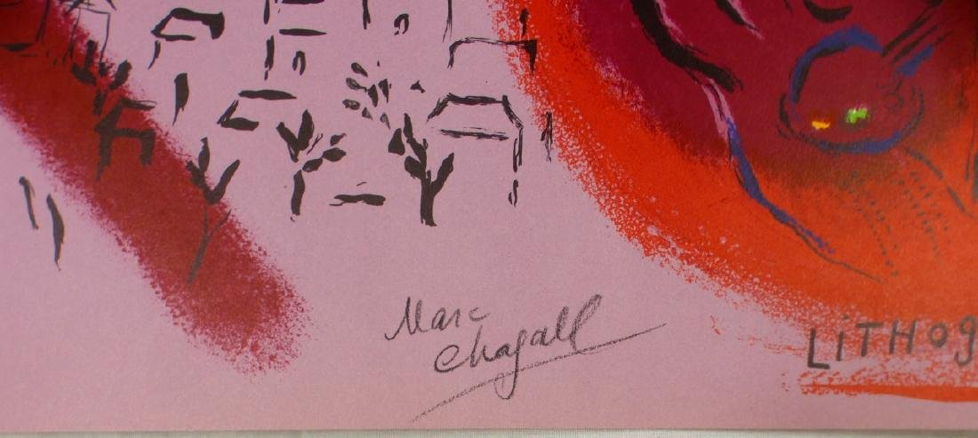 MARC CHAGALL 'LITHOGRAPH II' LITHOGRAPH SIGNED - 3