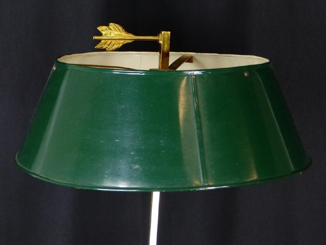 BRASS 3-ARM CANDELABRA LAMP - 3