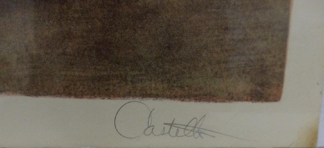 CASTELLO MID-CENTURY LITHOGRAPH SIGNED - 3