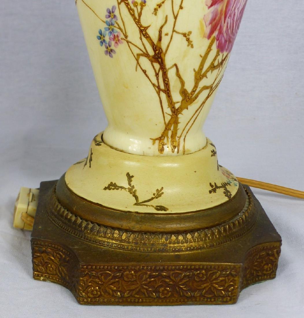 PR CONTINENTAL PORCELAIN BIRD VASE LAMPS - 7