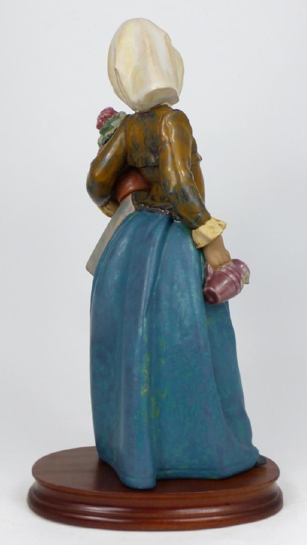 LLADRO 'GIRL WITH GERANIUM' PORCELAIN FIGURINE - 3