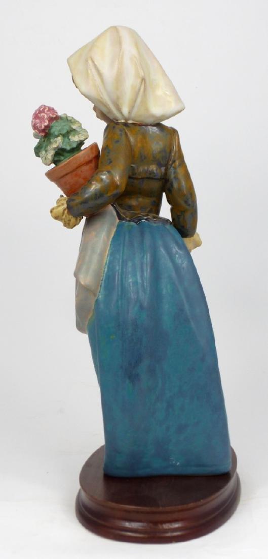 LLADRO 'GIRL WITH GERANIUM' PORCELAIN FIGURINE - 4