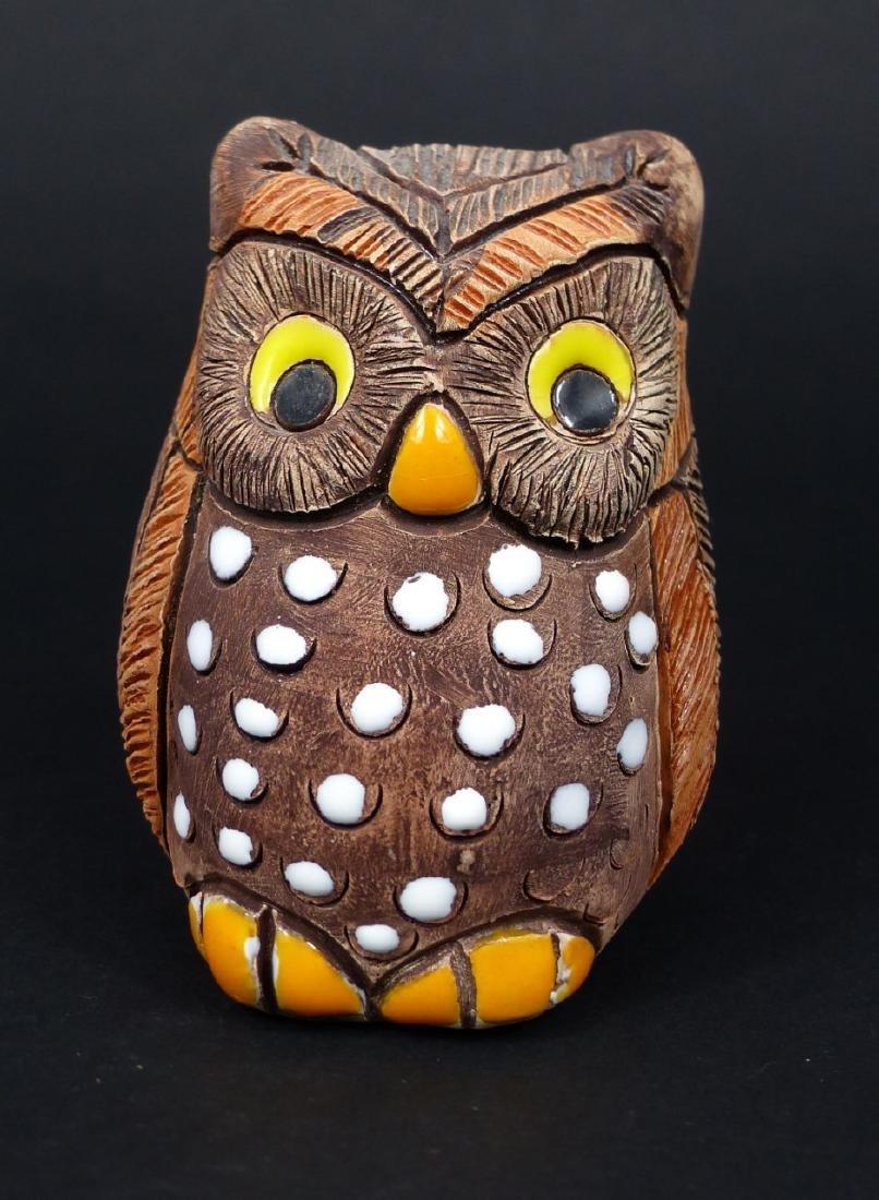 4pc OWL FIGURES - 8