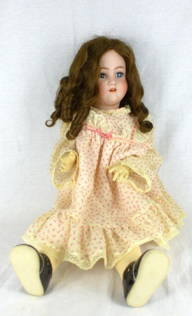 HEIRICH HANDWERK SIMON & HALBIG BISQUE HEAD DOLL