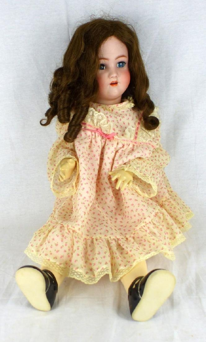 HEIRICH HANDWERK SIMON & HALBIG BISQUE HEAD DOLL - 2