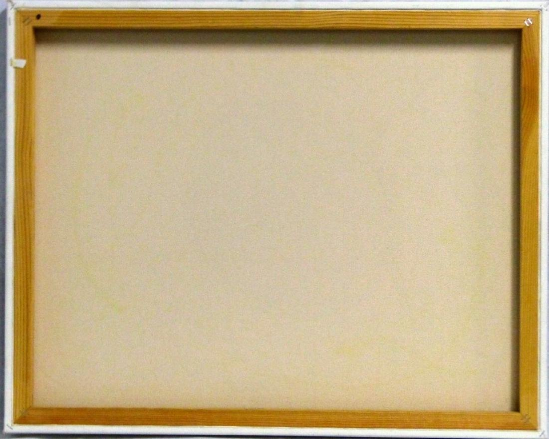 MICHAEL GODARD 'OLIVE' ACRYLIC ON CANVAS - 5