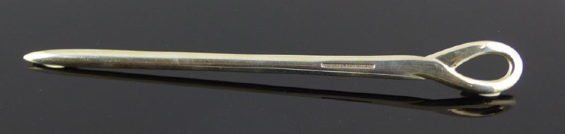 TIFFANY & CO PERETTI STERLING KNOT LETTER OPENER - 2