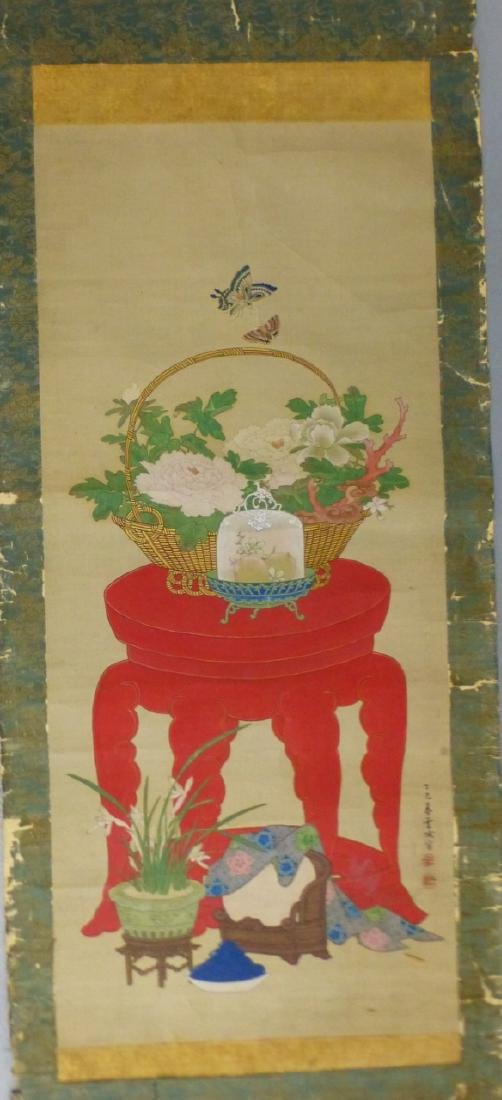 ANTIQUE CHINESE SCROLL PAINTING - 2