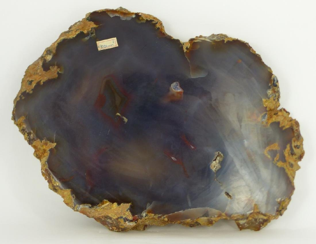 LARGE AGATE SLICE / TRAY - 3